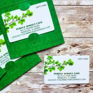 Purple Sprout - Gift Card - Vegan Organic - Cloud Cafe