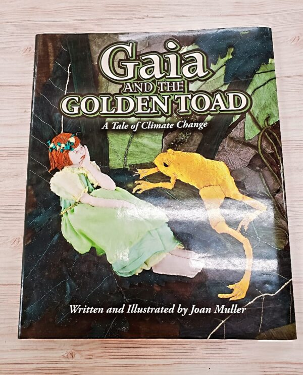 Gaia & The Golden Toad by Joan Muller